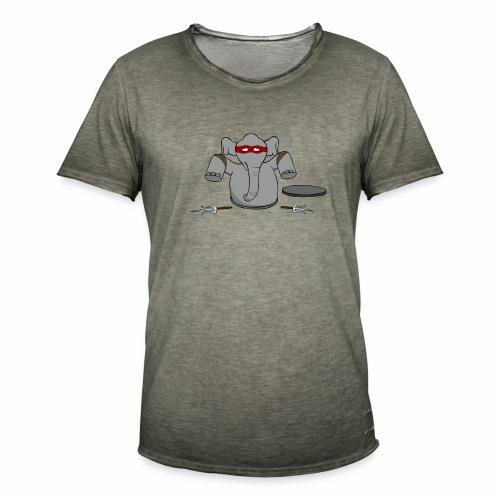 TMNE - Mannen Vintage T-shirt