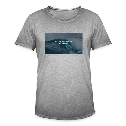 Relax Shirts - Männer Vintage T-Shirt