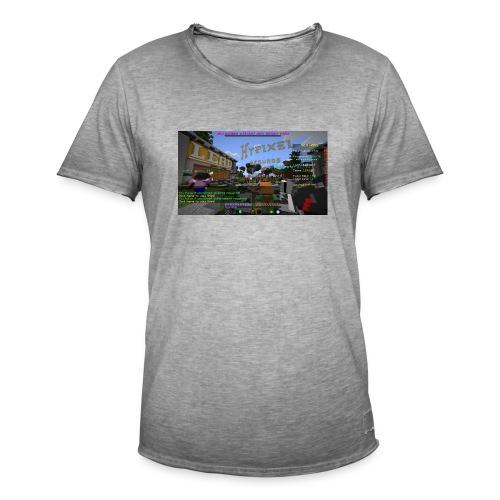 JA TAK S LOGO - Herre vintage T-shirt