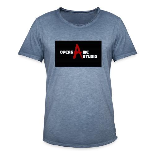 overgameStudio Logo - T-shirt vintage Homme