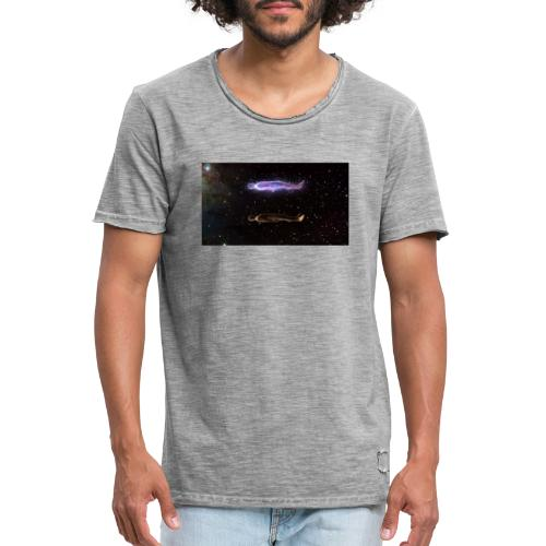 wake up - Vintage-T-skjorte for menn