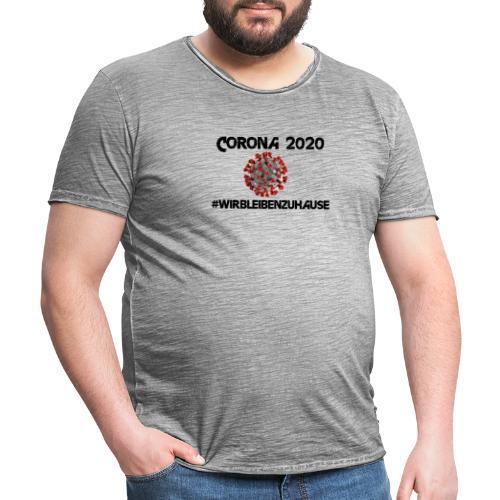 Corona 2020 - Männer Vintage T-Shirt