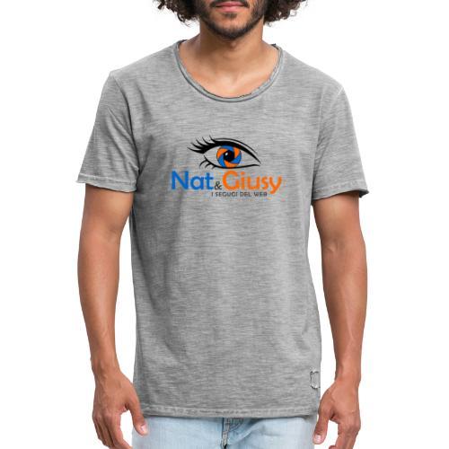 Nat e Giusy - Maglietta vintage da uomo