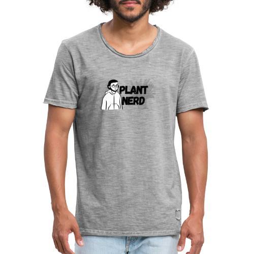 Plant Nerd - Men's Vintage T-Shirt