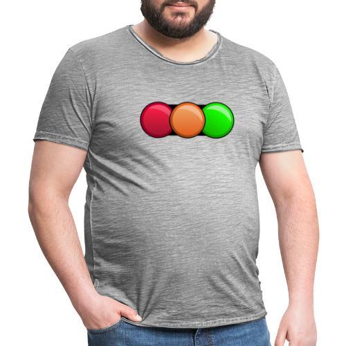 Fahrschule DAMIAN - Männer Vintage T-Shirt