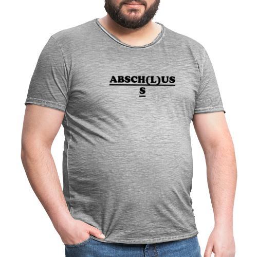 abschluss 2 - Männer Vintage T-Shirt