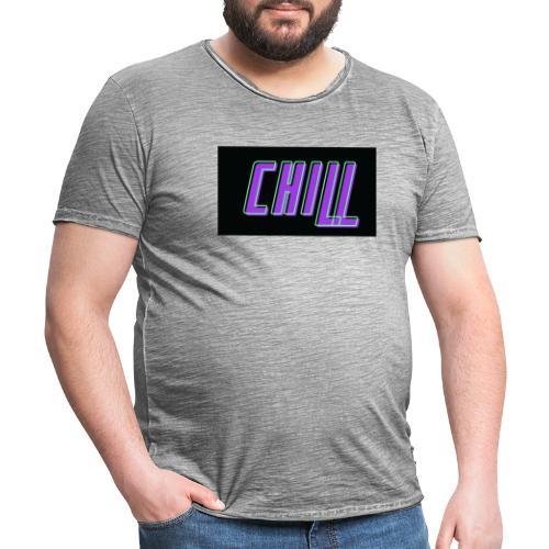 Chill logo - Männer Vintage T-Shirt
