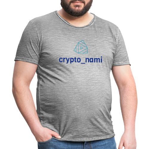 crypto_nami - Men's Vintage T-Shirt