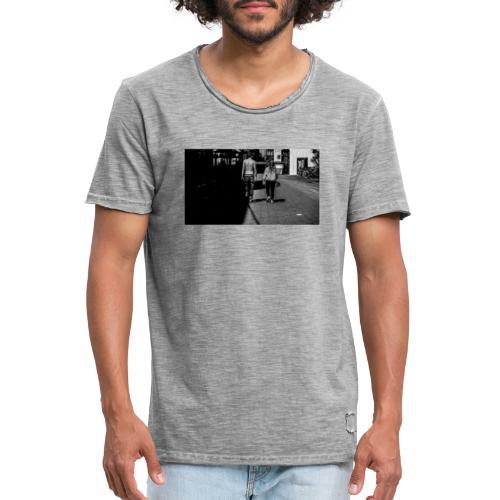 Grenzgang - Männer Vintage T-Shirt