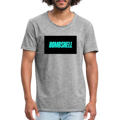 Bombshell - Herre vintage T-shirt