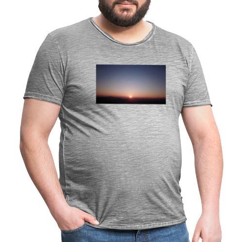 SONNENAUFGANG - Männer Vintage T-Shirt