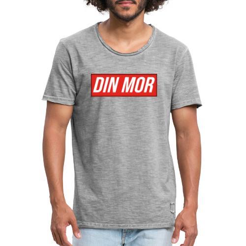 Din Mor - Herre vintage T-shirt