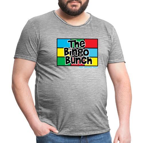 BINGO BUNCH MONDRIAN - Men's Vintage T-Shirt