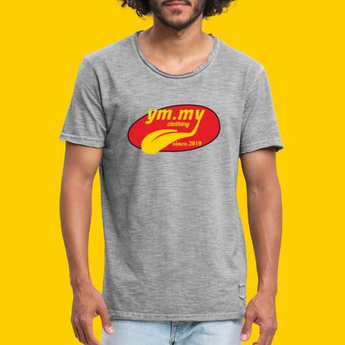 YM.MY clothing LOGO - Men's Vintage T-Shirt
