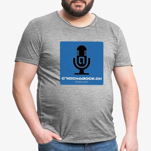 Grischabock Podcast - Männer Vintage T-Shirt