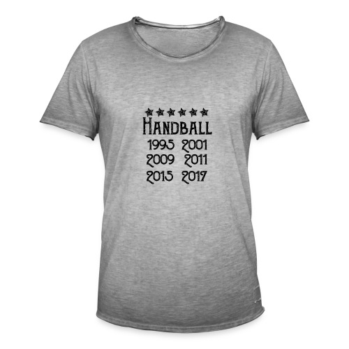 Handball six fois champion - T-shirt vintage Homme