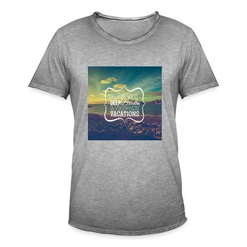 summer - Camiseta vintage hombre