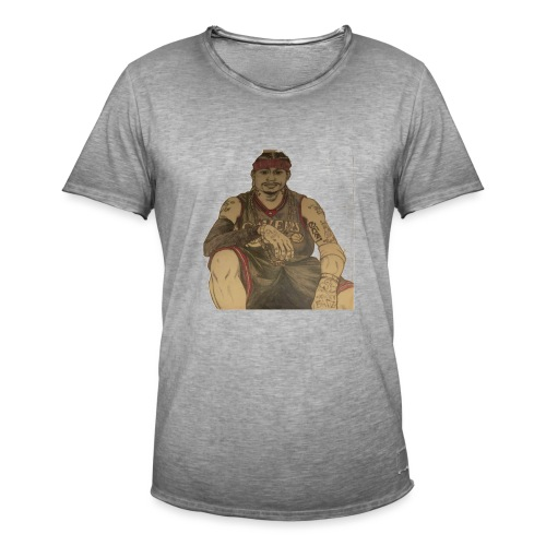 jugador - Camiseta vintage hombre