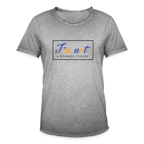 AA000040 - Camiseta vintage hombre