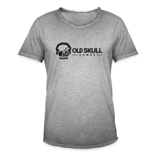 Logo OSG Rectangle black 1 - T-shirt vintage Homme
