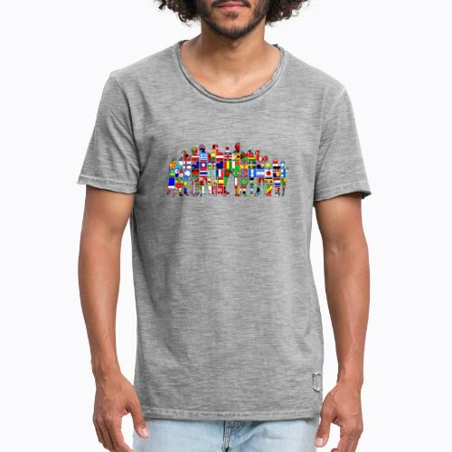 all the world - Men's Vintage T-Shirt