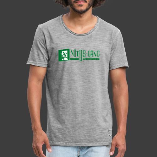 Notus-Gang - Männer Vintage T-Shirt