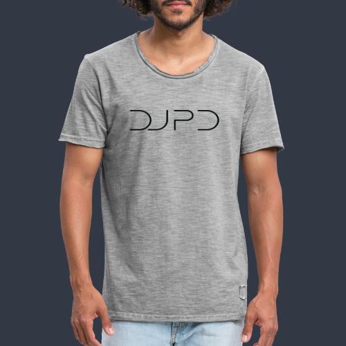 DJ PD in black - Männer Vintage T-Shirt