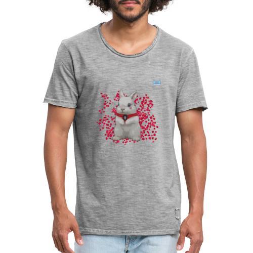 Chic Bunny - Men's Vintage T-Shirt