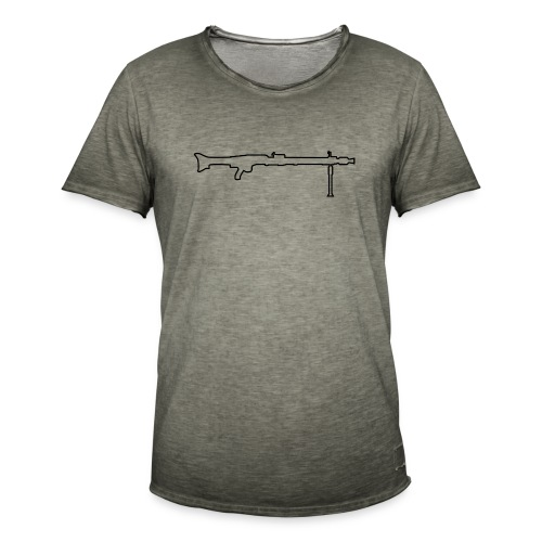Mg42 Mg3 german gun - Men's Vintage T-Shirt