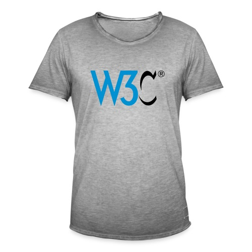 w3c - Men's Vintage T-Shirt