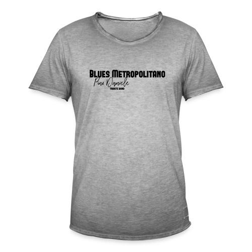 BM logo nero - Maglietta vintage da uomo