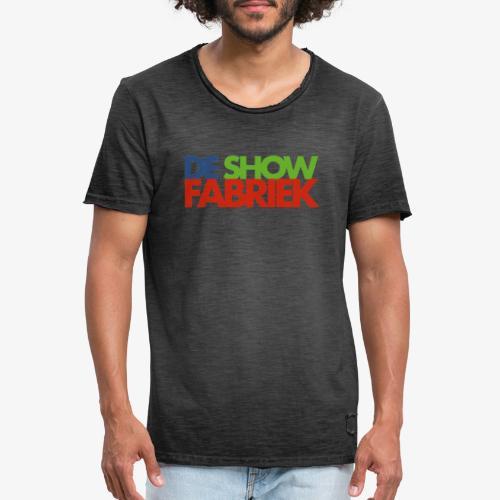 De Showfabriek - Mannen Vintage T-shirt
