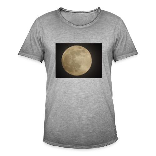 VollMond - Männer Vintage T-Shirt