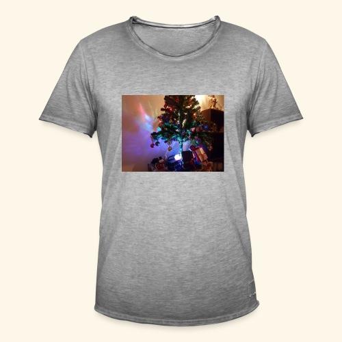Weihnachten ist schön mit dem Party-Weihnachtsbaum - Männer Vintage T-Shirt