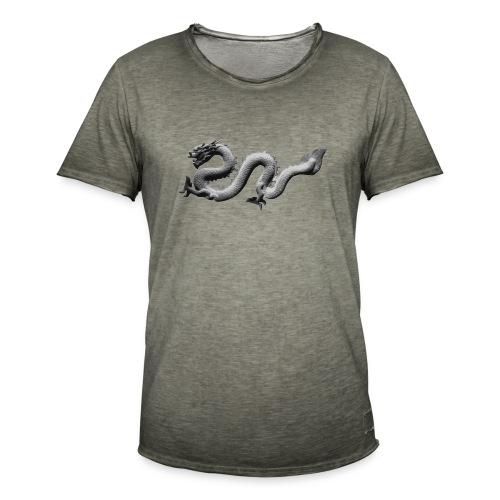 China Drache - Männer Vintage T-Shirt
