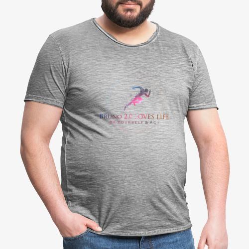 Collection Bruno 2.0 LOVES LIFE - T-shirt vintage Homme