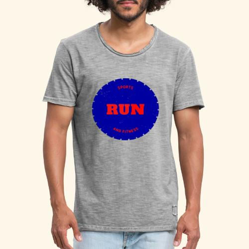 Run et fitniss - T-shirt vintage Homme