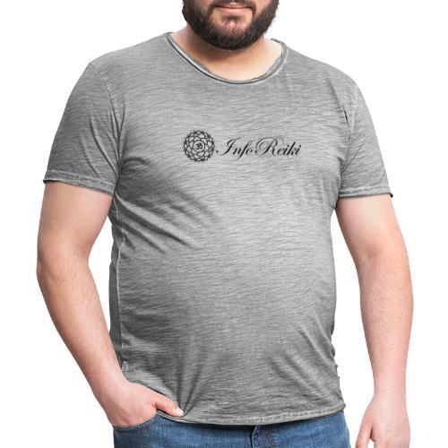 logo rettangolare - Maglietta vintage da uomo