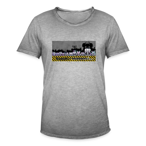 #MarchOfRobots ! LineUp Nr 2 - Herre vintage T-shirt