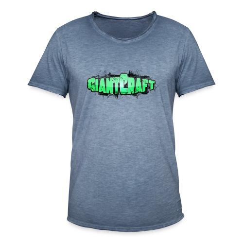 Vandflaske - GiantCraft - Herre vintage T-shirt