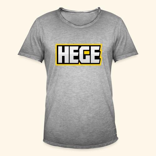 Hege - Männer Vintage T-Shirt