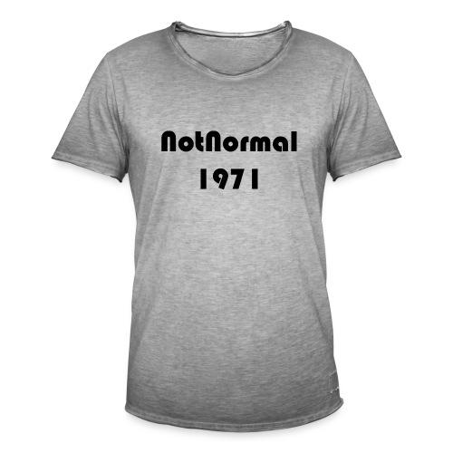 30x1303 - Vintage-T-skjorte for menn