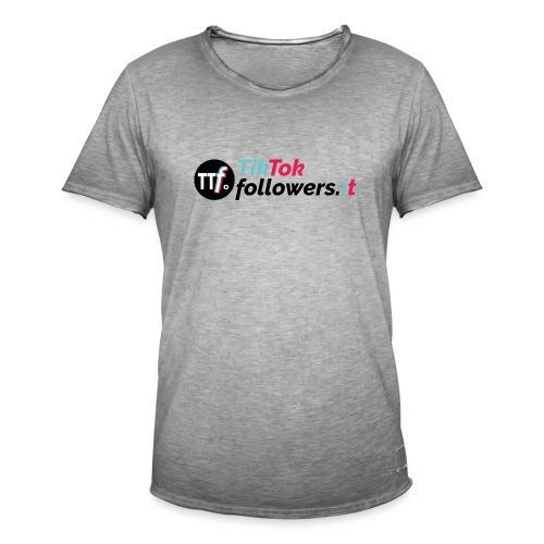 ttfollowers logo - Maglietta vintage da uomo
