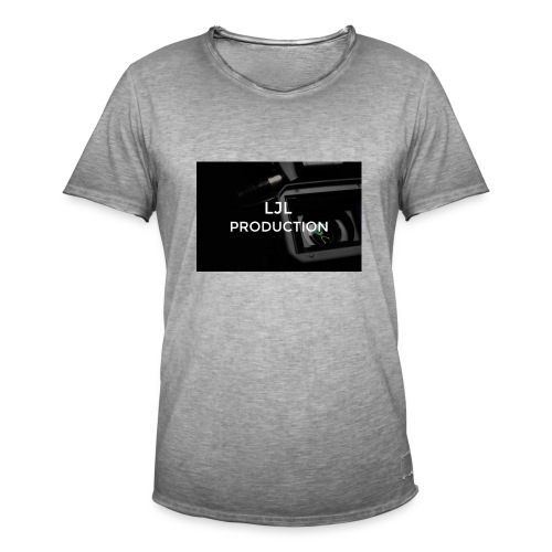 LJLproduction merch - Vintage-T-shirt herr