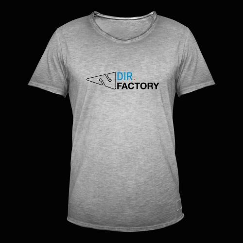 Logo mit Arrow DESIGN - Männer Vintage T-Shirt