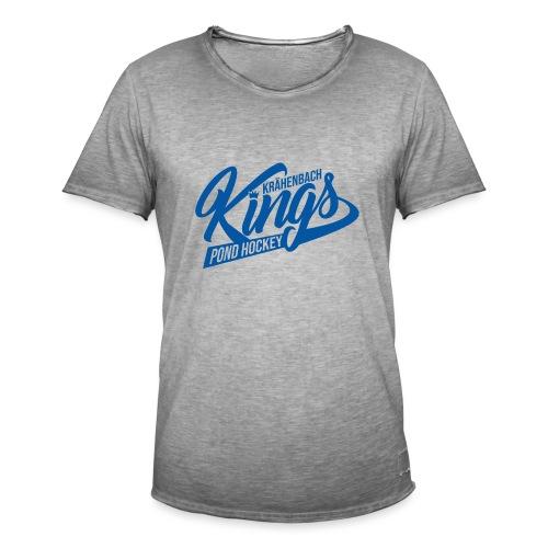 KINGS Logo 2019 einfach blue - Männer Vintage T-Shirt
