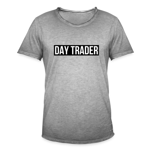 DAY TRADER - T-shirt vintage Homme