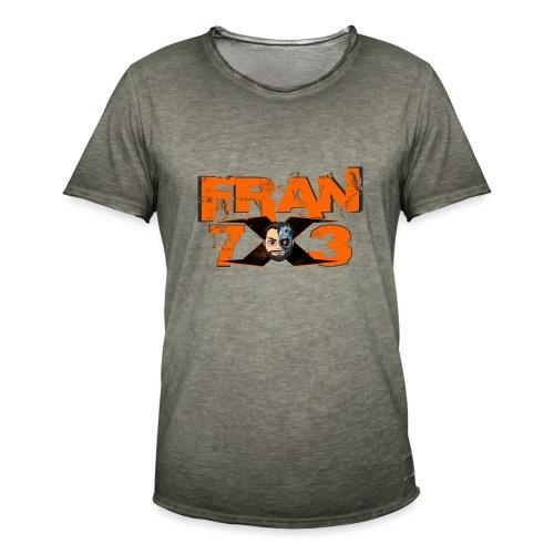 FranX73 Retro - Camiseta vintage hombre