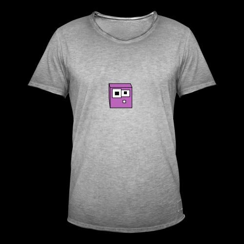 Schleim Design - Männer Vintage T-Shirt
