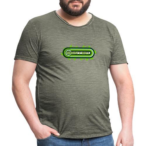 GREEN LOGO - Camiseta vintage hombre